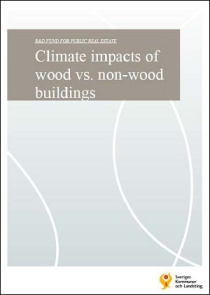 Climate impacts of wood vs. non-wood buildings
